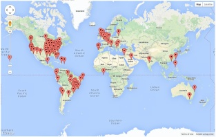 Site Visitors - Global